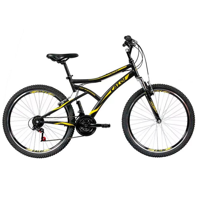 7dad3965c Bicicleta Aro 26 - 21 Marchas T-Type Mountain Bike Preta - Caloi ...