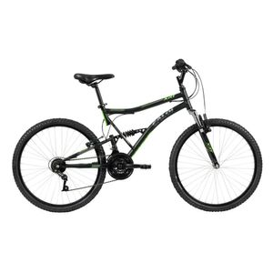 Bicicleta-Xrt-Preta-Aro-26---21-Marchas-Full-Suspension-Freio-V-Brake-em-Aluminio---Caloi