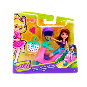 Conjunto-Polly-Pocket-Scooter---Mattel