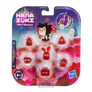 Hanazuki-6-Figuras-Humor-Vermelho---Hasbro