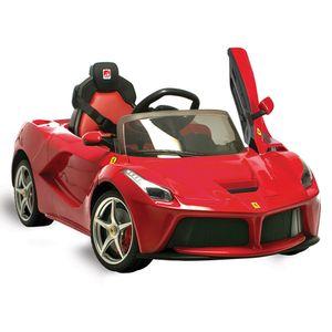 Ferrari-La-Ferrari-Vermelha-Eletrica-12V-Radio-Controle---Bandeirante