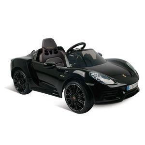 Porsche-Preto-918-Eletrico-12V-Radio-Controle---Bandeirante