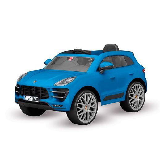 Porsche-Macan-Azul-Eletrico-12V-Radio-Controle---Bandeirante