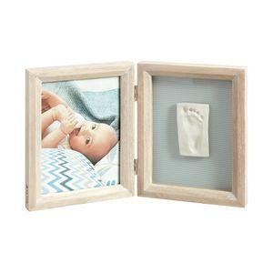 Porta-Retrato-de-Madeira-com-Molde-My-Baby-Touch---Baby-Art