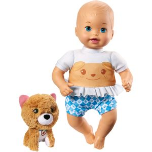 Little-Mommy-com-Pelucia-Cachorro---Mattel