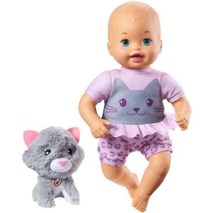 Little-Mommy-com-Pelucia-de-Gato---Mattel