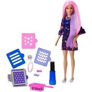 Barbie-Cabelos-Coloridos---Mattel