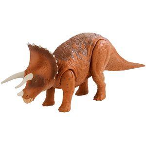 Jurassic-World-Dinossauro-com-Sons-Triceratops---Mattel