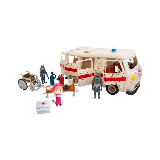 Playset-Ambulancia-e-Mini-Figuras-Masha-e-o-Urso---Sunny