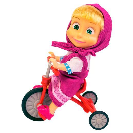 Masha-e-o-Urso-Boneca-Masha-com-Triciclo-Divertido---Sunny