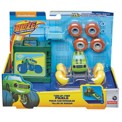 Fisher-Price-Blaze-Veiculos-Customizaveis-Pickle---Mattel-