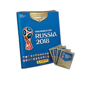 Album-Oficial-Copa-do-Mundo-Fifa-2018-com-12-Pacotes-de-Figurinha---Panini