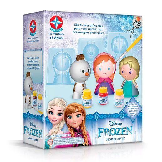 Modelarte-gesso-Frozen-Faz-de-Verdade---Estrela