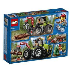Lego-City-60181-Trator-Florestal---Lego