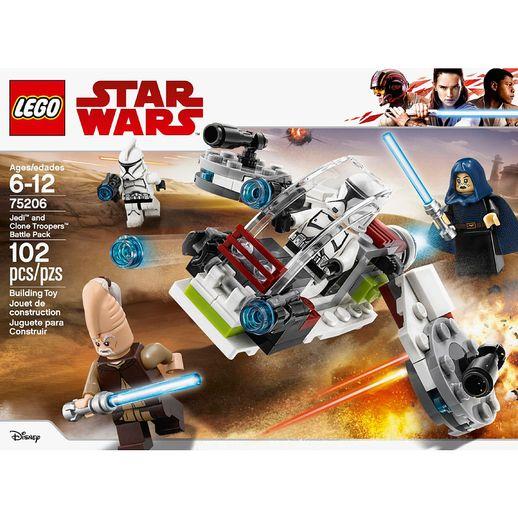 Lego-Star-Wars-75206-Conjunto-de-Combate-Jedi-e-Clone-Troopers---Lego