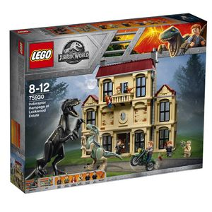 Lego-Jurassic-World-75930-Indoraptor-Rampage-na-propriedade-de-Lockwood---Lego