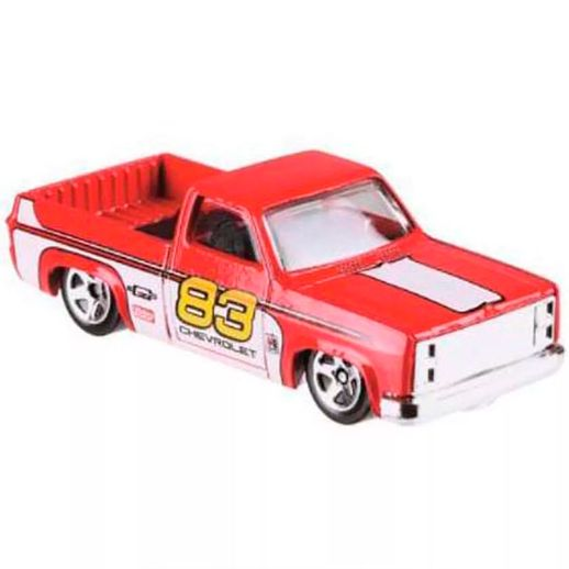 Hot-Wheels-50-anos-Chevy-Silverado-83---Mattel