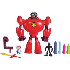 Teen-Titans-Go-Playset-de-Acao-Ciborg---Mattel