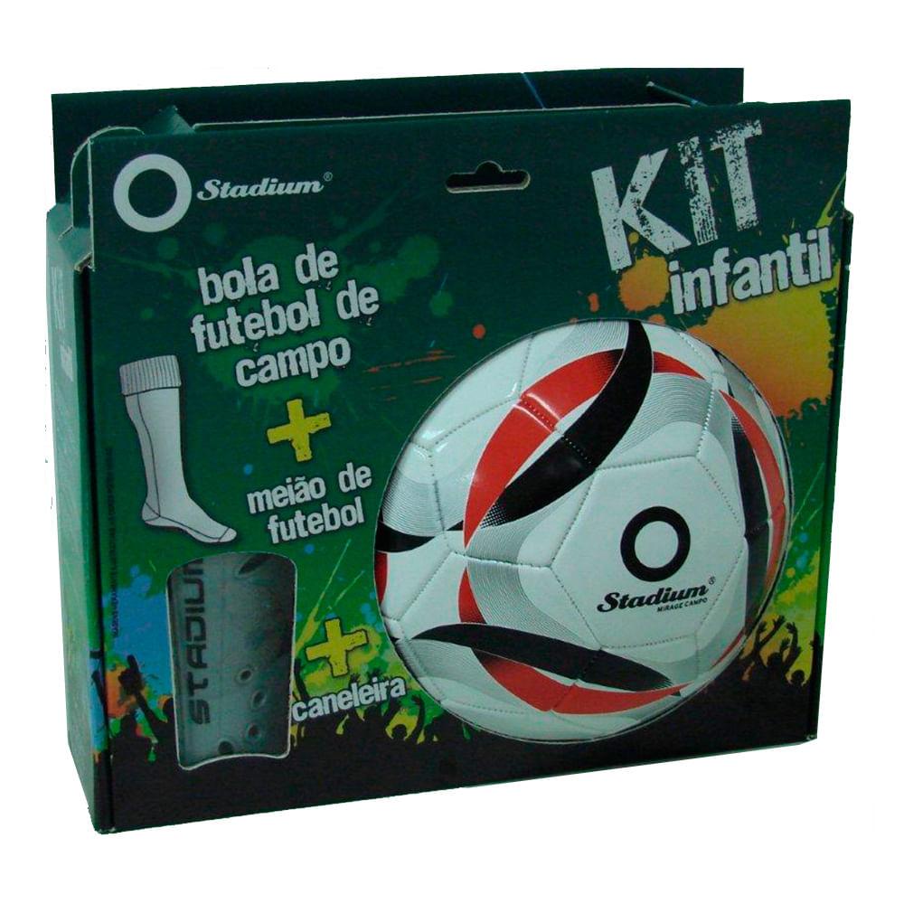 b87ed441bd Kit Bola Mirage com Par de Meião e Caneleira - Penalty