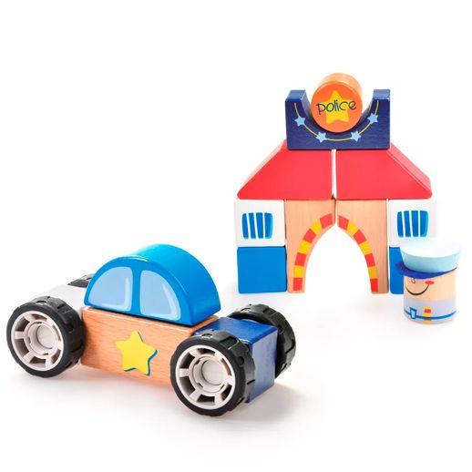 Construindo-com-Bloquinhos-Departamento-de-Policia-Estrela-Baby---Estrela