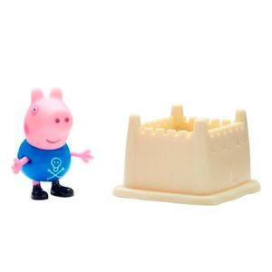 Peppa-Pig-George-com-Castelo-de-Areia---DTC