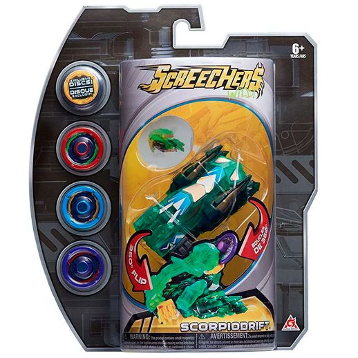 Screechers-com-4-Discos-Scorpiodrift---DTC