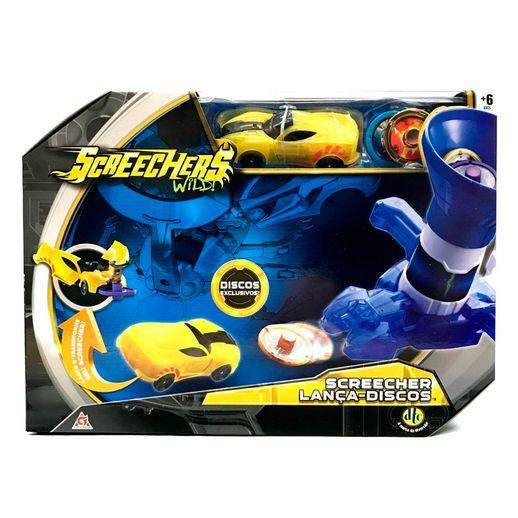Screechers-Super-Lancador-de-Discos-Amarelo---DTC