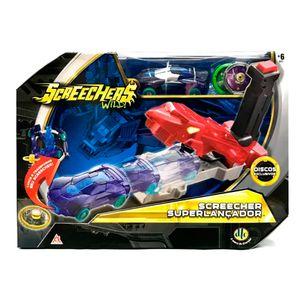 Screechers-Super-Lancador-de-Discos-Azul---DTC