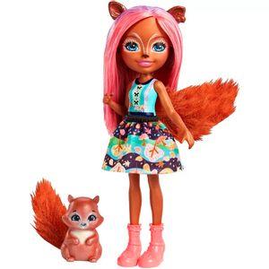 Enchantimals-Boneca-Sancha-Squirrel-e-Stumper---Mattel