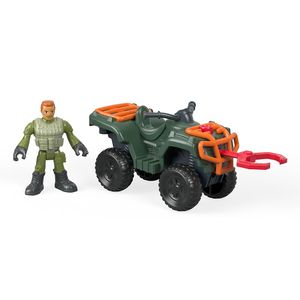 Imaginext-Jurassic-World-Atv-Technician---Mattel