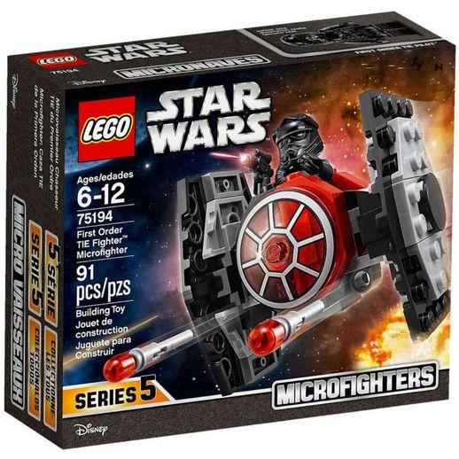 Microfighter Wars Ordem Lego Caça 75194 Star Primeira Da Tie wOPZTuikX