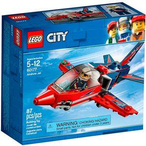 Lego-City-60177-Espetaculo-Aereo-de-Aviao-a-Jato---Lego