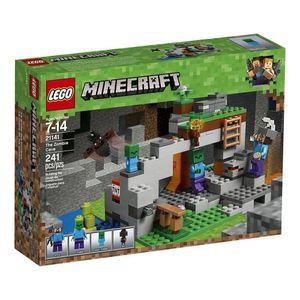 Lego-Minecraft-21141-Caverna-do-Zumbi---Lego
