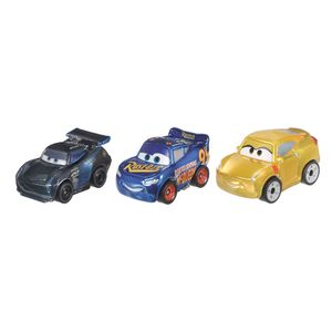 Blister-com-3-Veiculos-Mini-Racers-Disney-Cars---Mattel