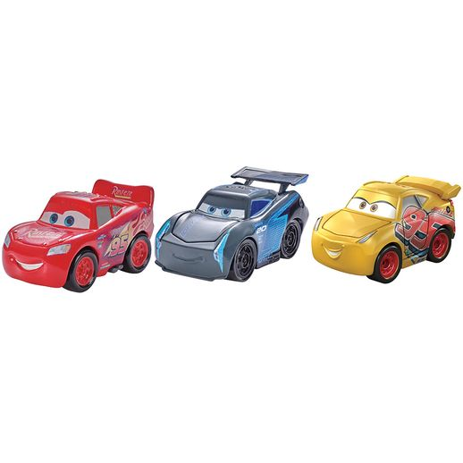 Blister-com-3-Veiculos-Mini-Racers-Disney-Cars-Relampago-McQueen---Mattel