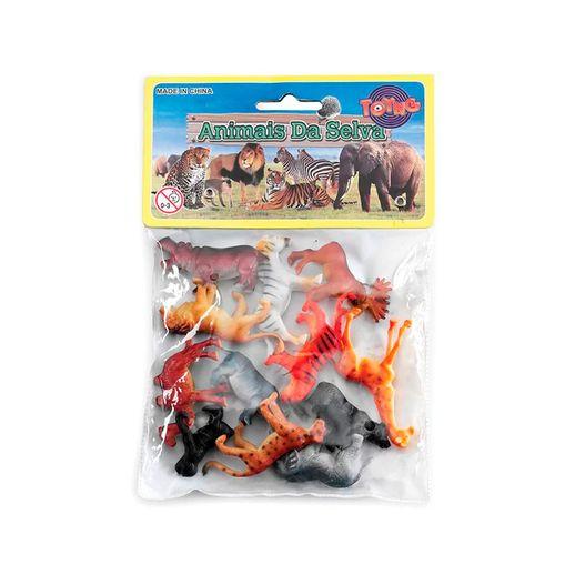 Kit-Mini-Bichos-Animais-da-Selva-12-Pecas-Sortido---Toyng