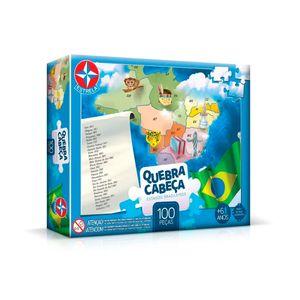 Quebra-Cabeca-Estados-Brasileiros-100-Pecas---Estrela