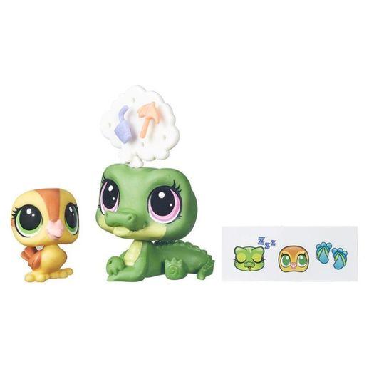 Littlest-Pet-Shop-Grandes-Possibilidades-Alia-Lagarto-Dabble-e-Von-Quac---Hasbro