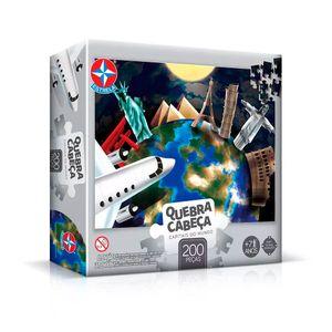 Quebra-Cabeca-Capitais-do-Mundo-200-pecas---Estrela