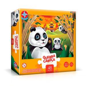 Quebra-Cabeca-Grandao-Pandas-48-pecas---Estrela
