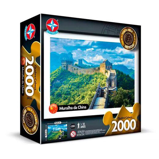 Quebra-Cabeca-Muralha-da-China-2000-pecas---Estrela