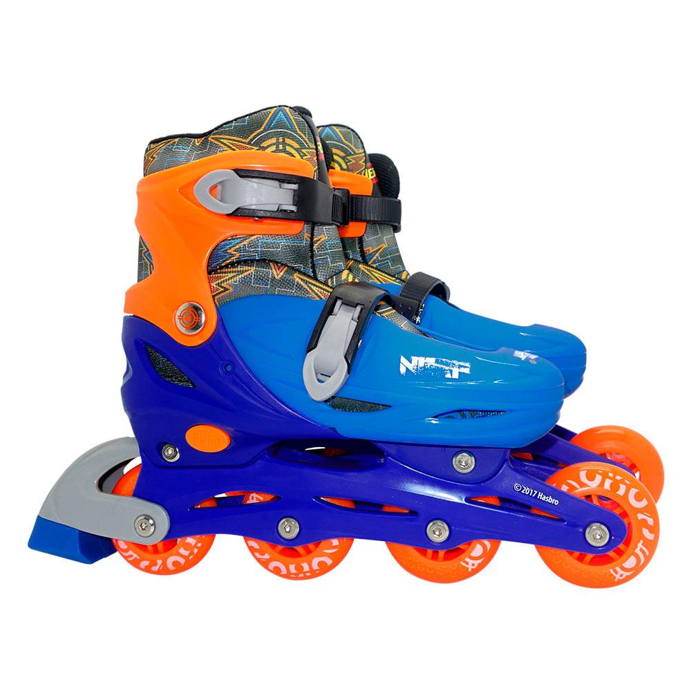 888aa28887748 Patins Ajustável Nerf G 39 42 - Astro Toys
