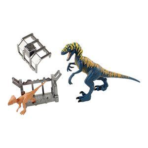 Jurassic-World-Destrutosauros-Velociraptor---Mattel