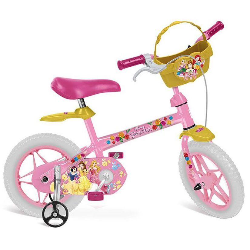 becccf43f Bicicleta Aro 12 Princesas Disney - Bandeirante