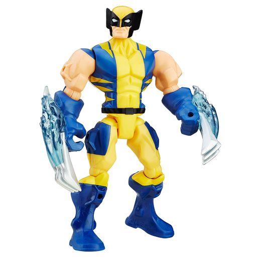 Marvel---Boneco-Super-Hero-Mashers-Wolverine---Hasbro