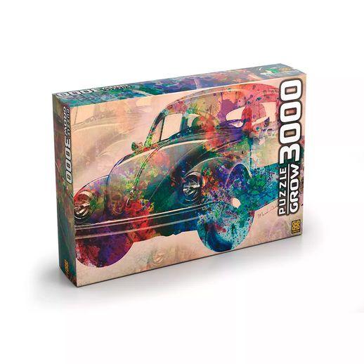 Puzzle-3000-pecas-Vintage-Car---Grow