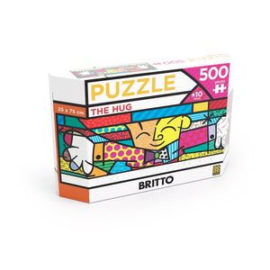 Puzzle-500-pecas-Panorama-Romero-Britto-The-Hug---Grow