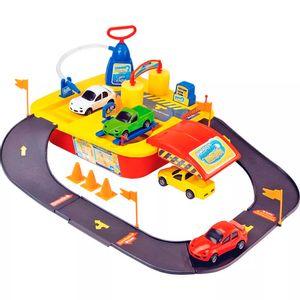 Lava-Rapido-Acqua-Rapido-com-4-carrinhos---Brinquedos-Chocolate