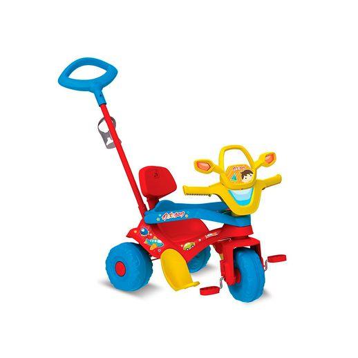 Triciclo-Motoban-3-em-1-Vermelho---Bandeirante