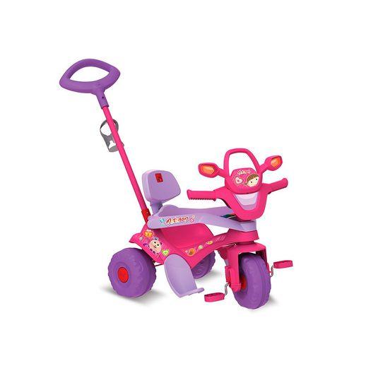 Triciclo-Motoban-3-em-1-Rosa---Bandeirante